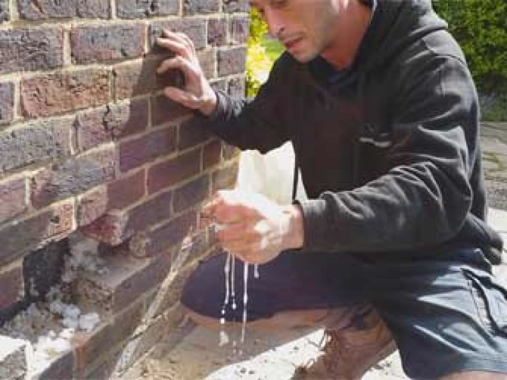 wet wall insulation