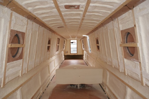 BoaT spray-foam-insulation-for-walls-ceilings-floors-isothane-pertaining-to-how-ideas-7